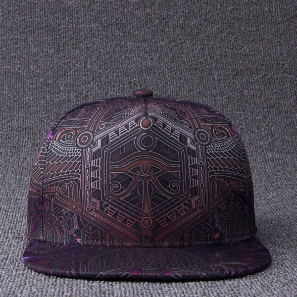 Kemetic Science Third Eye of horus snapback cap