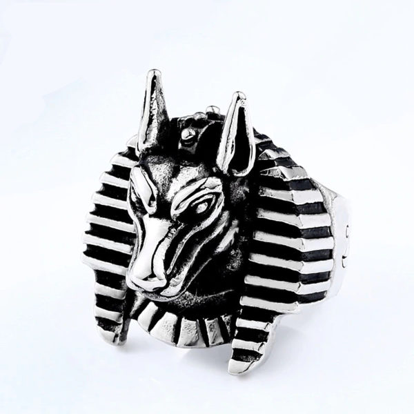 Pharaoh Anubis Ring
