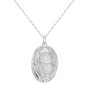 Simple Egyptian Scarab Necklace