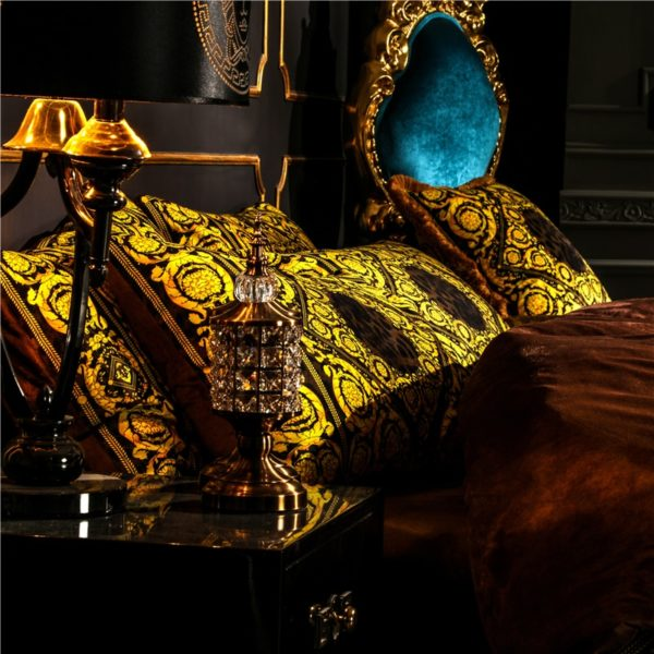 Leopard-Print-Luxury-Bedding-Set